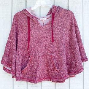 DELiA*s | Hooded Poncho Sweater Hybrid